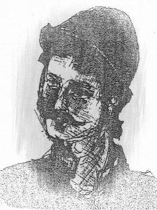 Милисав Чамџија цртеж
